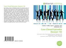 Capa do livro de Case Closed Episodes (Season 16)