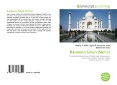 Bookcover of Basawon Singh (Sinha)