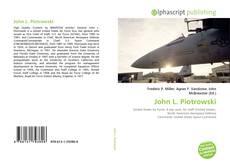 Bookcover of John L. Piotrowski