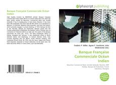 Banque Française Commerciale Océan Indien kitap kapağı