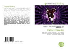 Copertina di Culture Cassette