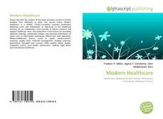 Capa do livro de Modern Healthcare