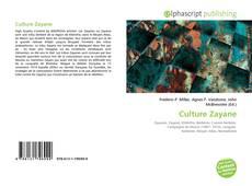 Couverture de Culture Zayane