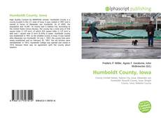 Buchcover von Humboldt County, Iowa