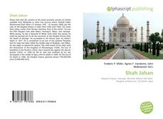 Bookcover of Shah Jahan