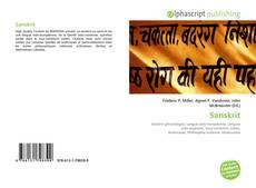 Buchcover von Sanskrit
