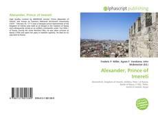 Bookcover of Alexander, Prince of Imereti