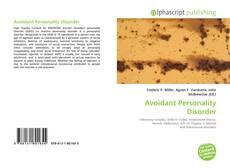 Avoidant Personality Disorder kitap kapağı