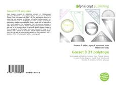 Bookcover of Gosset 3 21 polytope