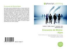 Bookcover of Économie de Rhône-Alpes