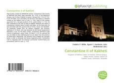 Constantine II of Kakheti的封面