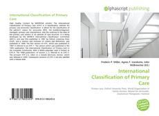 Обложка International Classification of Primary Care