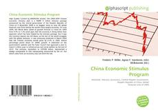 Capa do livro de China Economic Stimulus Program