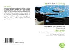 Bookcover of File server
