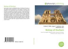 Buchcover von Bishop of Durham