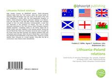 Bookcover of Lithuania–Poland relations