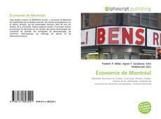 Bookcover of Économie de Montréal