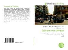Bookcover of Économie de l'Afrique