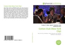 Bookcover of Cotton Club (New York City)