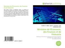 Bookcover of Ministère de l'Économie, des Finances et de l'Industrie