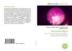 Capa do livro de Herméneutique