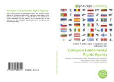 Bookcover of European Fundamental Rights Agency