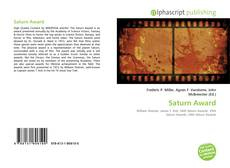 Saturn Award的封面