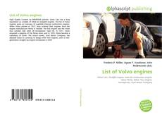 Bookcover of List of Volvo engines
