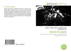 Capa do livro de Honda D engine