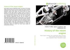 Bookcover of History of the steam engine