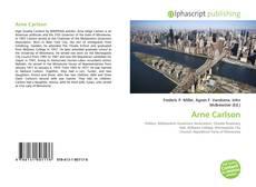 Bookcover of Arne Carlson