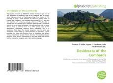 Desiderata of the Lombards kitap kapağı