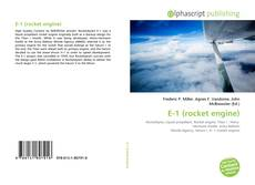 Capa do livro de E-1 (rocket engine)
