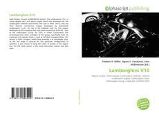 Capa do livro de Lamborghini V10