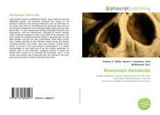 Armenian Genocide kitap kapağı