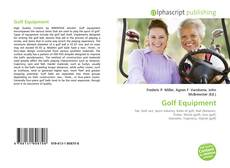 Portada del libro de Golf Equipment
