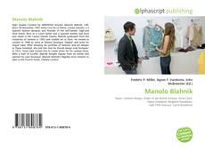 Manolo Blahnik kitap kapağı