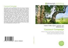 Bookcover of Caucasus Campaign