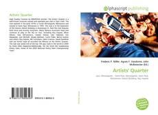 Buchcover von Artists' Quarter