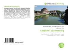 Portada del libro de Isabelle of Luxembourg