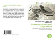 Bookcover of Academy Award for Best Original Score