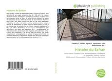Capa do livro de Histoire du Safran