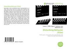 Capa do livro de Disturbing Behavior (Film)