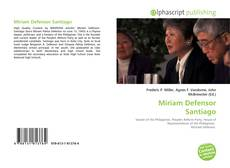 Bookcover of Miriam Defensor Santiago