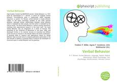 Verbal Behavior kitap kapağı