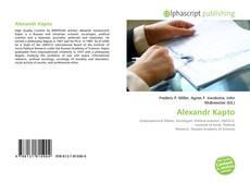 Bookcover of Alexandr Kapto