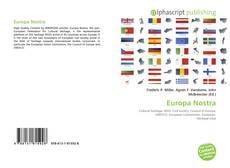 Bookcover of Europa Nostra