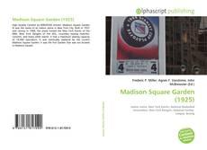 Madison Square Garden (1925) kitap kapağı