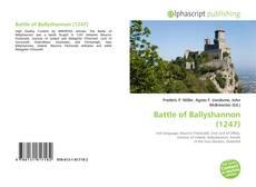 Buchcover von Battle of Ballyshannon (1247)