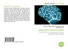 Bookcover of Biogenetic Structuralism